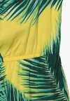 Abercrombie & Fitch - RUFFLE ROMPER  - Jumpsuit - yellow