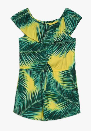 RUFFLE ROMPER  - Overal - yellow