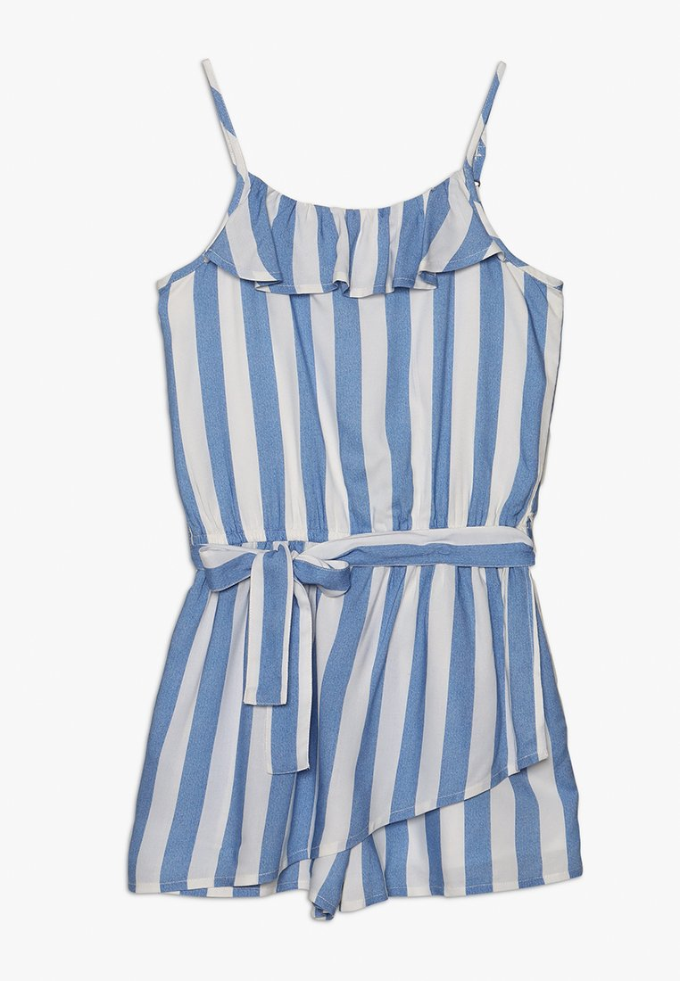 Abercrombie & Fitch - WRAP FRONT SKORT  - Overall / Jumpsuit /Buksedragter - blue
