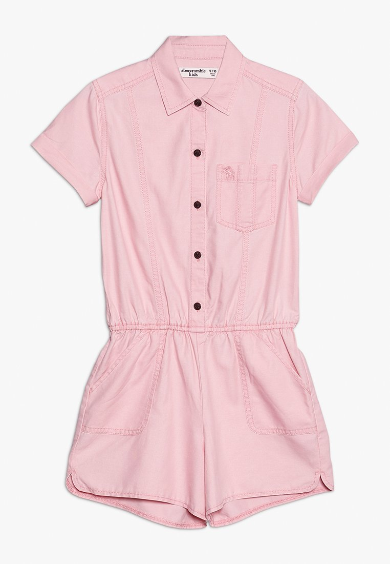 Abercrombie & Fitch - AIR CHASE MILITARY ROMPER  - Jumpsuit - pink