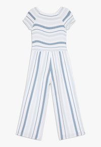 Abercrombie & Fitch - PREP SMOCKED  - Jumpsuit - blue - 1