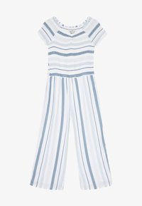 Abercrombie & Fitch - PREP SMOCKED  - Jumpsuit - blue - 2