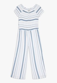 Abercrombie & Fitch - PREP SMOCKED  - Jumpsuit - blue - 0