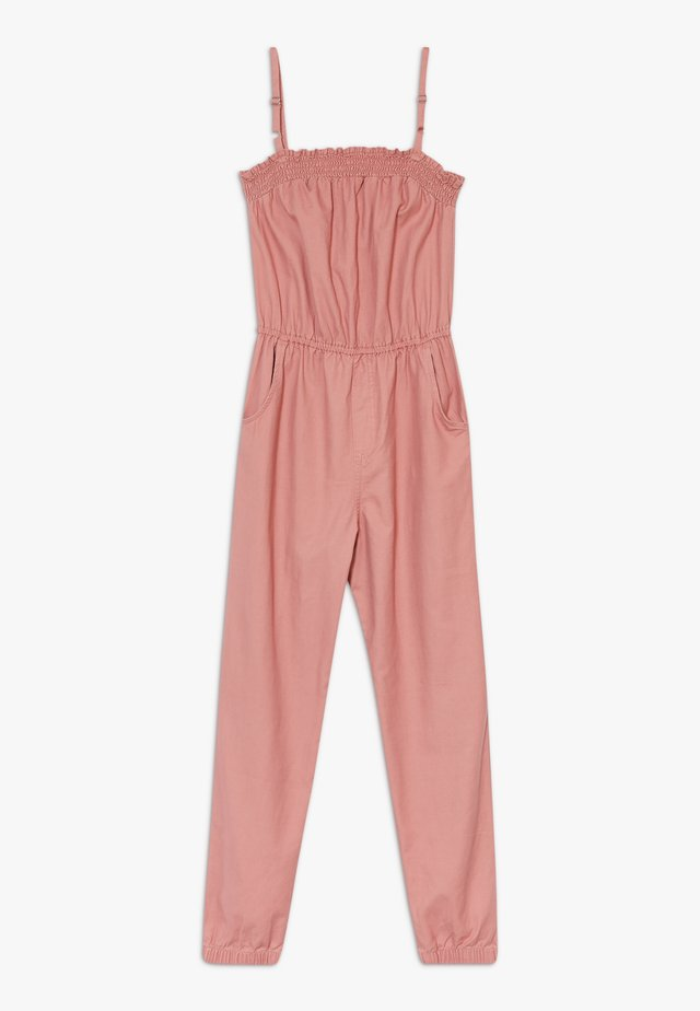 UTILITY SMOCKED  - Jumpsuit - pink