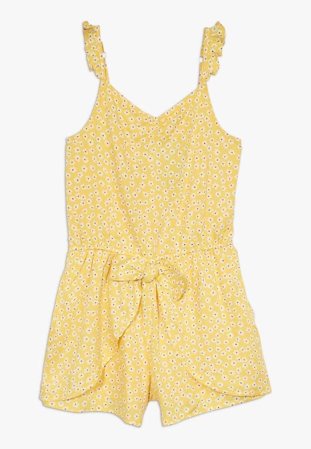BARE SPLIT SKORT  - Overall / Jumpsuit - yellow ditsy
