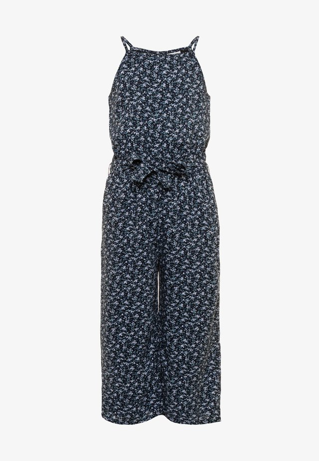 HIGH NECK  - Jumpsuit - navy