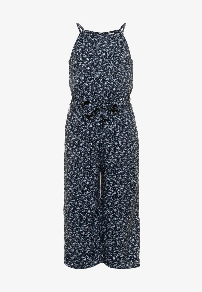 Abercrombie & Fitch - HIGH NECK  - Jumpsuit - navy
