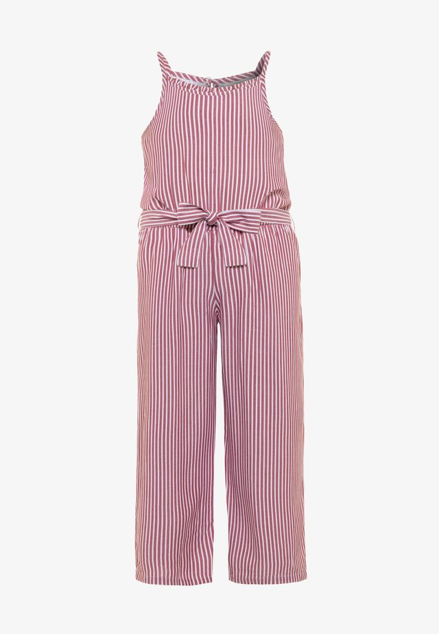 HIGH NECK  - Jumpsuit - red