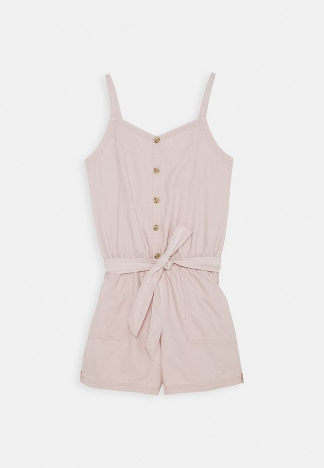 BARE UTILITY ROMPER - Jumpsuit - rose
