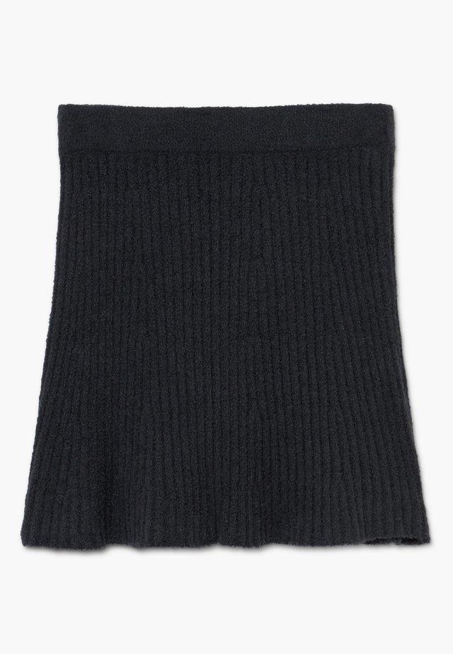 MATCH SKIRT - A-linjekjol - open black