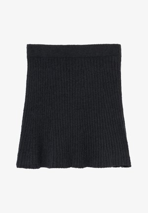 MATCH SKIRT - Gonna a campana - open black