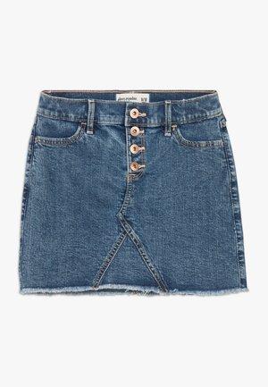 SHANK SKIRT - Mini skirt - marble wash