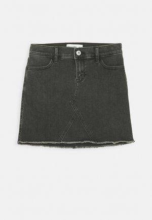 SKIRT - Denimová sukně - washed black