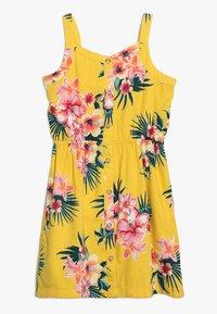 Abercrombie & Fitch - BUTTON THRU DRESS - Denní šaty - yellow floral - 0