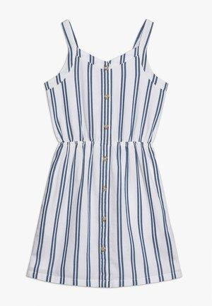 BUTTON THRU DRESS - Freizeitkleid - blue