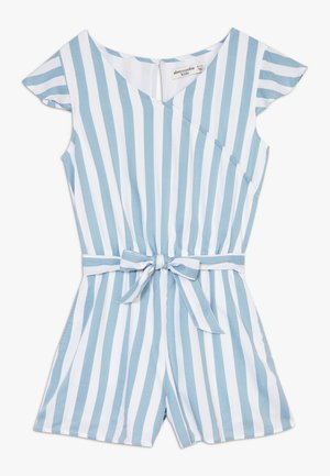 WRAP FRONT SKORT  - Combinaison - blue/white