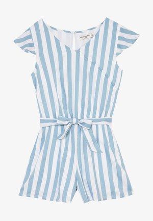 WRAP FRONT SKORT  - Jumpsuit - blue/white