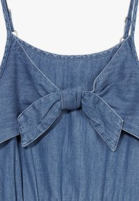 Abercrombie & Fitch - TIE FRONT DRESS  - Day dress - blue - 4