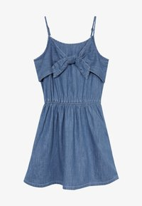 Abercrombie & Fitch - TIE FRONT DRESS  - Day dress - blue - 3