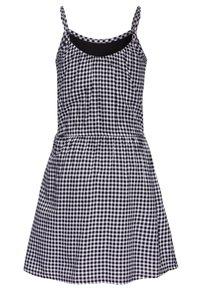 Abercrombie & Fitch - TIE FRONT DRESS  - Day dress - black - 1