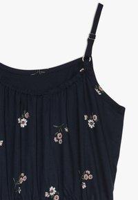 Abercrombie & Fitch - TIE DRESS  - Korte jurk - black - 2