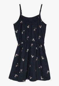 Abercrombie & Fitch - TIE DRESS  - Korte jurk - black - 1