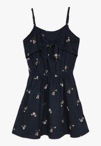 Abercrombie & Fitch - TIE DRESS  - Korte jurk - black - 0