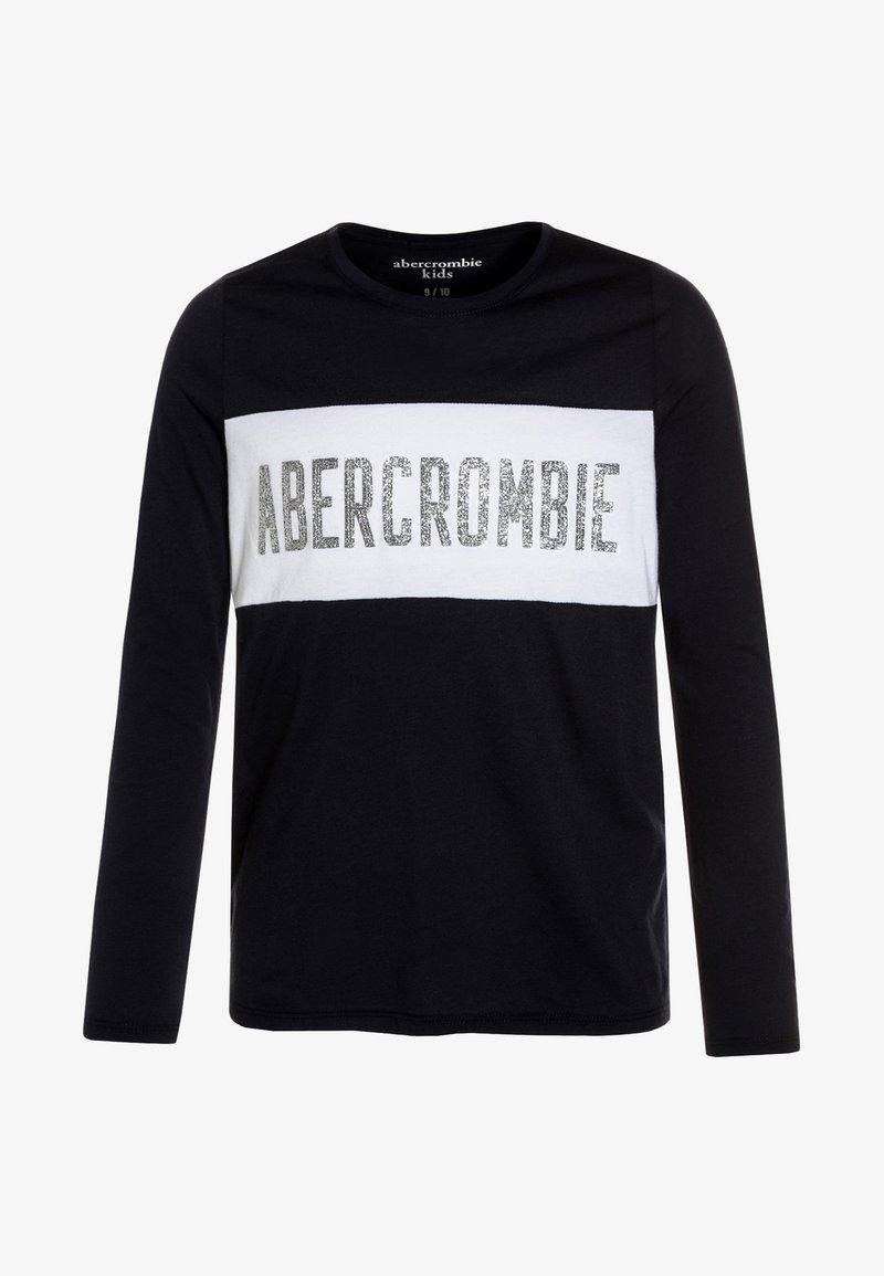 Abercrombie & Fitch - SPORTY TECH LOGO - Maglietta a manica lunga - dark blue