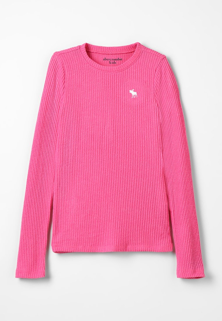 Abercrombie & Fitch - CREW - Longsleeve - pink