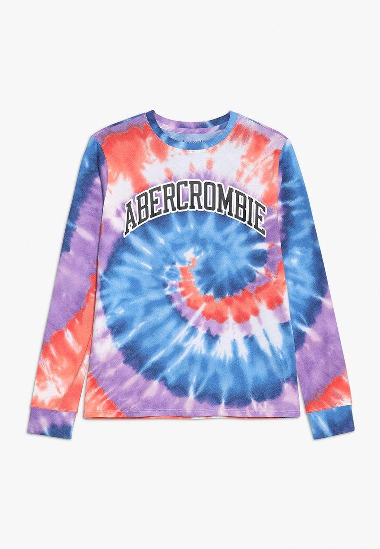 Abercrombie & Fitch - JAN - Langærmede T-shirts - purple/blue