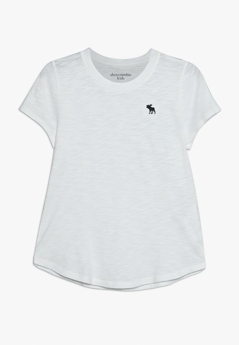Abercrombie & Fitch - CORE CREW TEE - T-shirt basic - solid white