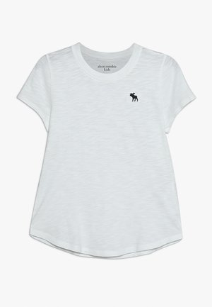 CORE CREW TEE - Jednoduché triko - white