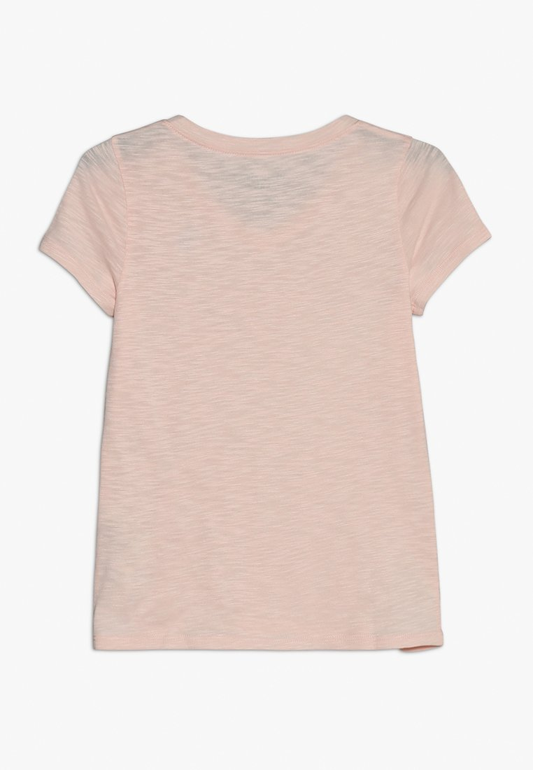 Abercrombie & Fitch - SLIM - T-shirts - pink