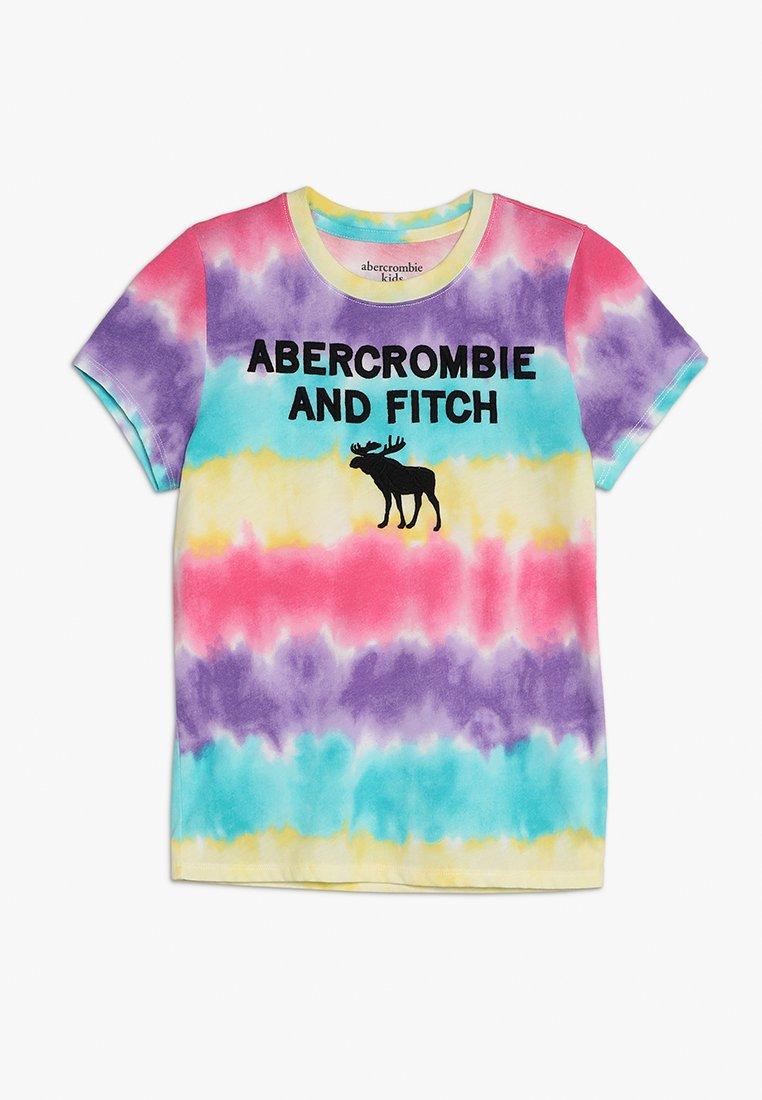 Abercrombie & Fitch - TECH CORE - T-Shirt print - multi color