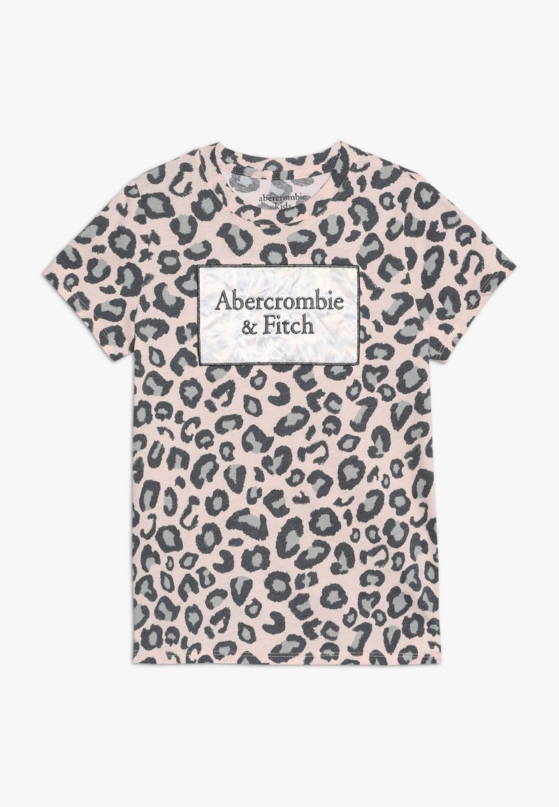 Abercrombie & Fitch - LOGO TEE ´ - T-shirts print - beige