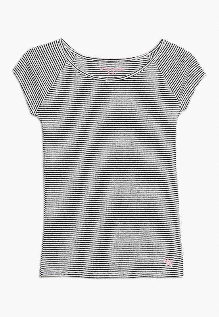 Abercrombie & Fitch - PATTERN TEE - T-Shirt print - dark blue