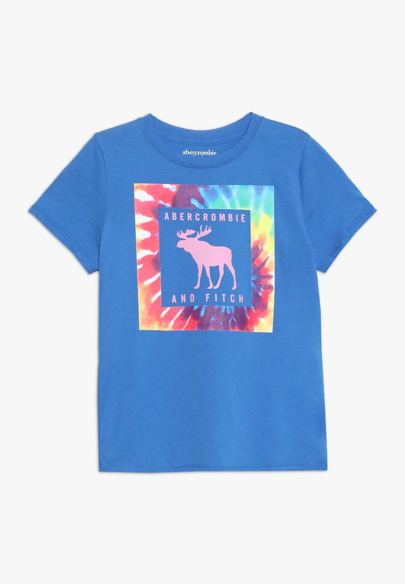 Abercrombie & Fitch - T-shirt z nadrukiem - blue