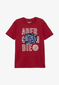 Abercrombie & Fitch - NOVELTY  - Print T-shirt - red - 2