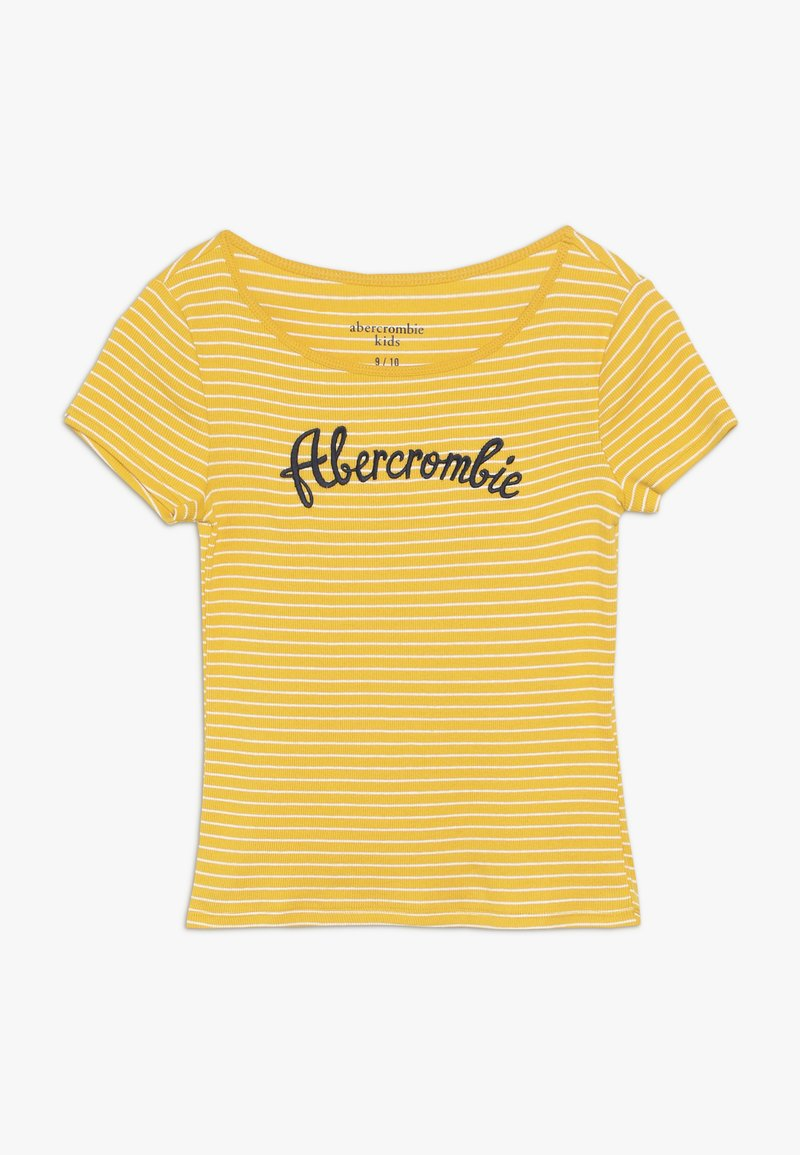 Abercrombie & Fitch - LOGO TEE - T-shirts print - yellow