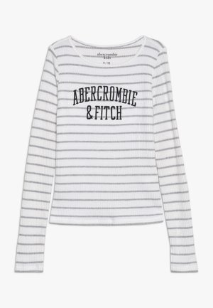 LOGO COZY  - Long sleeved top - white