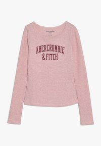 Abercrombie & Fitch - LOGO COZY  - Long sleeved top - pink - 0
