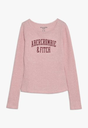 LOGO COZY  - Long sleeved top - pink