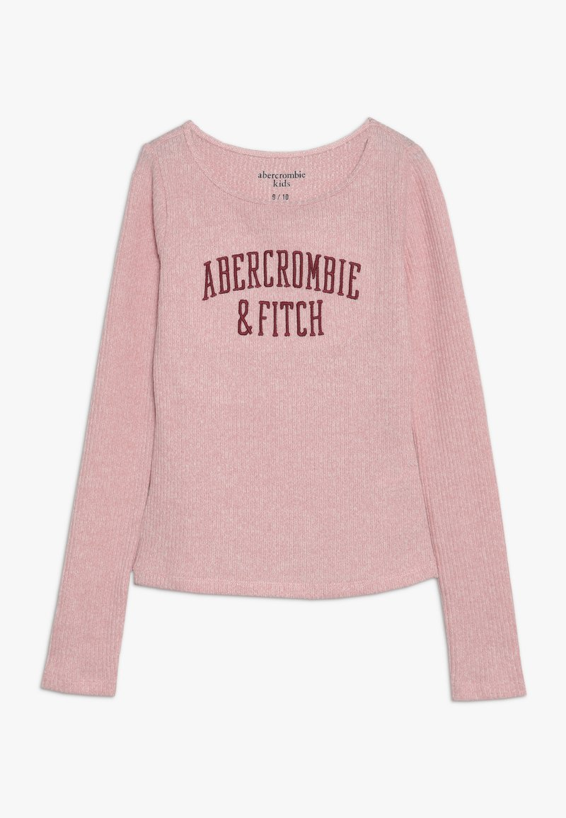 Abercrombie & Fitch - LOGO COZY  - Long sleeved top - pink