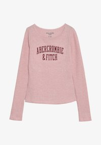 Abercrombie & Fitch - LOGO COZY  - Long sleeved top - pink - 2