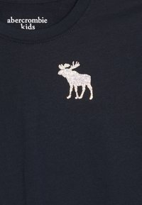 Abercrombie & Fitch - LOGO GRAPHIC - Long sleeved top - navy - 3
