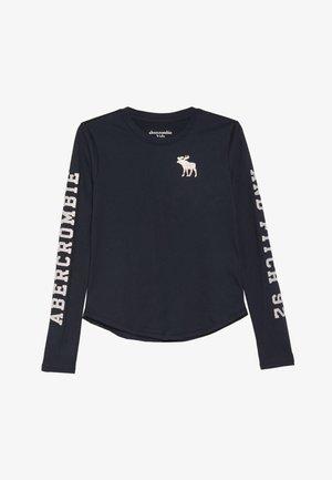 LOGO GRAPHIC - Långärmad tröja - navy