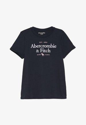 TECH CORE - T-shirt med print - navy