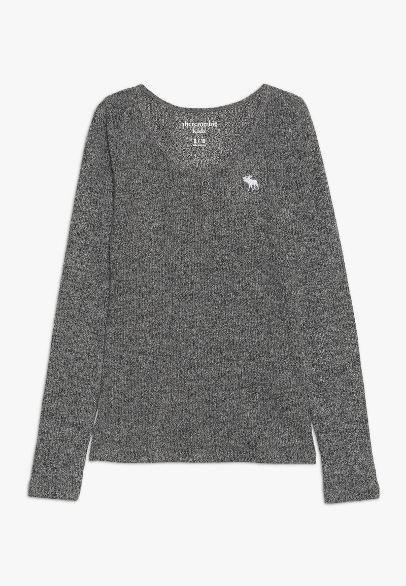 Abercrombie & Fitch - COZY HENLEY - Maglietta a manica lunga - grey