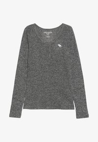 Abercrombie & Fitch - COZY HENLEY - Langarmshirt - grey - 2
