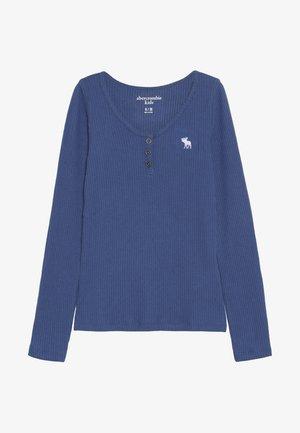 COZY HENLEY - Bluzka z długim rękawem - blue